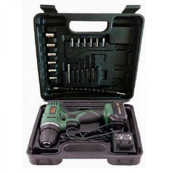 Шуруповерт дрель BOXER BX148 набор инструментов аналог BOSCH