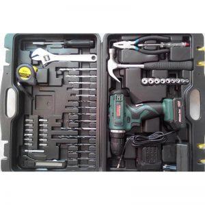 Шуруповерт BOXER BX177 18в Li набор инструментов ключей