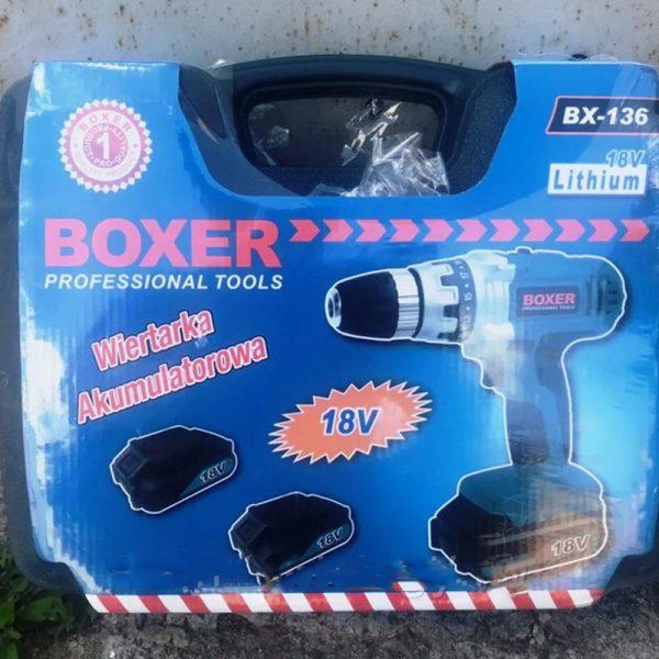 Шуруповерт Boxer BX 136