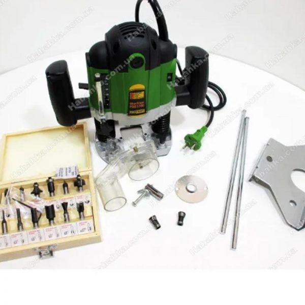 Надежный Фрезер Procraft POB 1700 вт с набором фрез инструментов